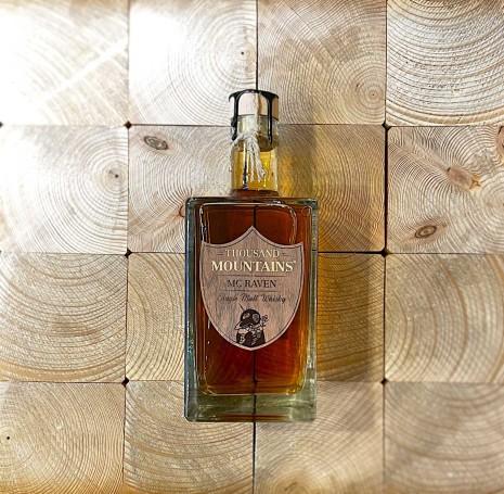 Mc Raven Thousand Mountains Single Malt Whisky / 0.7l / 46.2%